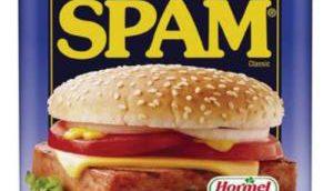 spam in blik
